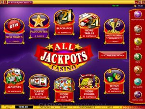 Recension All Jackpots Casino